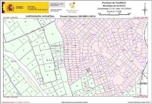 Urbanización Pedralvilla, Calle Xátiva, Olocau