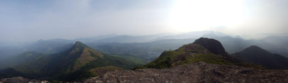 View from the top of Chokramudi.