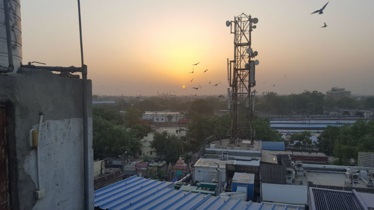 Jama Masjid sunrise