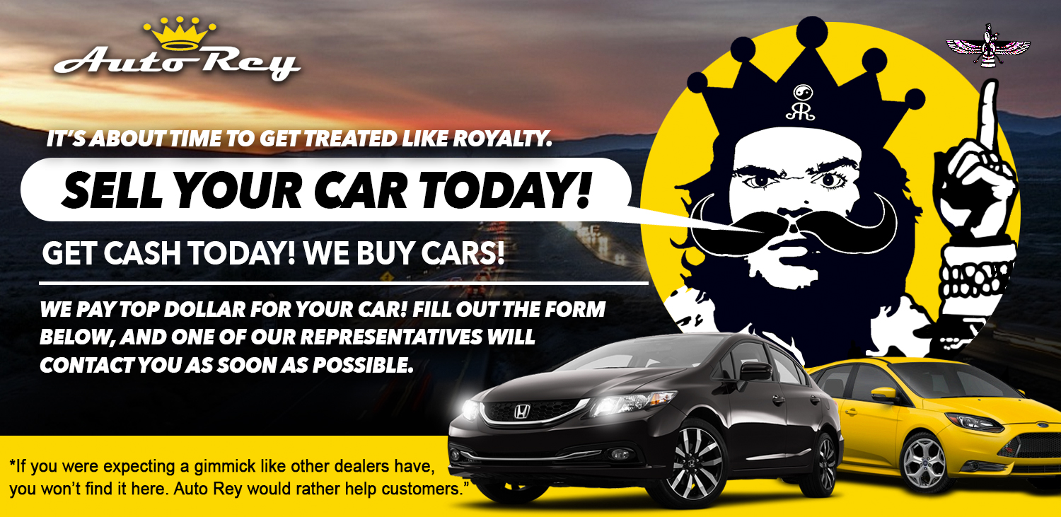 Sell your car to Auto Rey.