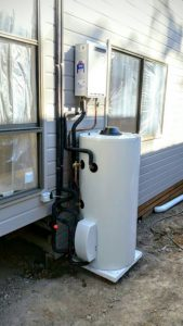 All Green SHW Gas Boosted 0 169x300 - Solar Hot Water
