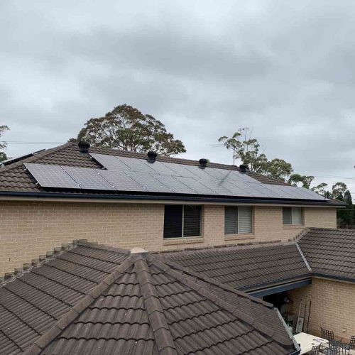 LG Neon2 350w Panels 2 500x500 - Solar Panel Installation at Mount Colah