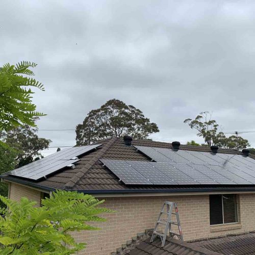 LG Neon2 350w Panels 500x500 - Solar Panel Installation at Mount Colah