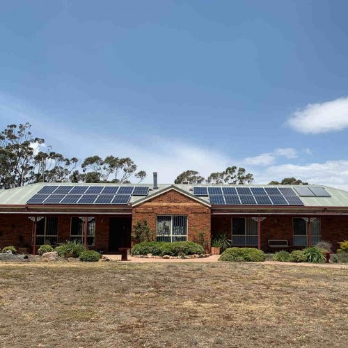 Canadian Solar CS6K 290 2 500x500 - Solar Panel Installation at Gowrie