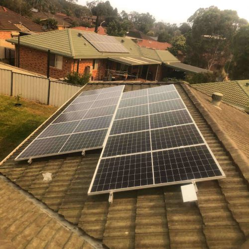 Canadian Solar CS6K 290w 1 500x500 - Solar Panel Installation at Kariong
