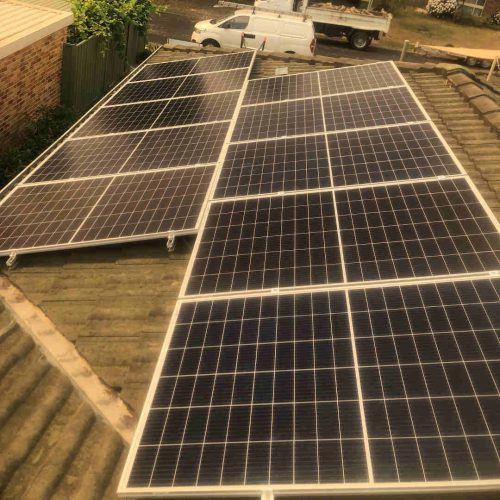 Canadian Solar CS6K 290w 2 1 500x500 - Solar Panel Installation at Kariong