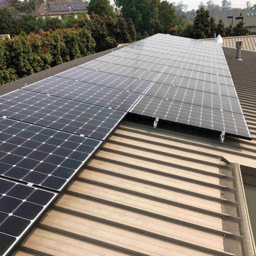 LG NeON2 LG345N1C A5 2 500x500 - Solar Panel Installation at Castle Hill