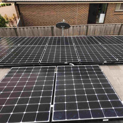 LG NeON2 LG345N1C A5 500x500 - Solar Panel Installation at The Ponds