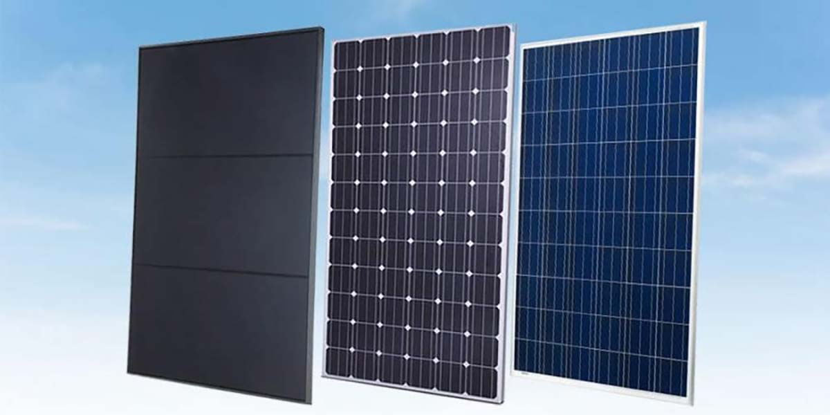 3 types of solar panels in australia