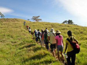 trekking in komodo island