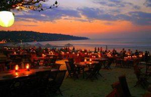 Sunset-romantic Dinner at Jimbaran Beach