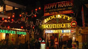 Bounty Discoteque in Kuta.
