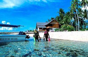kaledupa island wakatobi island
