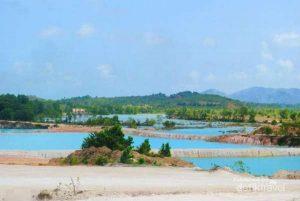 bintan blue lake