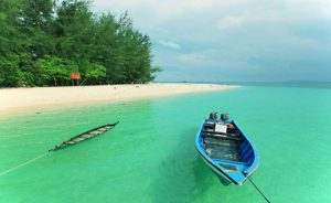 white sands island