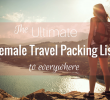 19 Indonesia Packing Checklist for Woman Traveler