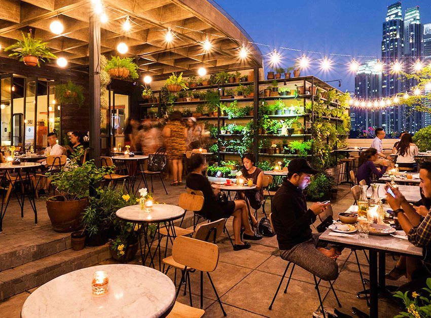 It Wouldn't Be Boring to Visit These Jakarta Restaurants with Outdoor Seating