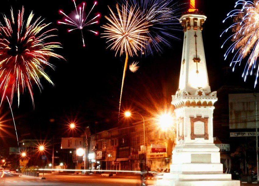 Best Places for New Year Party in Yogyakarta