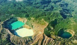 Lake Kelimutu, East Nusa Tenggara, Indonesia