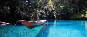 Lake Labuan Cermin, East Kalimantan, Indonesia