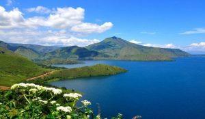 Lake Paniai, Papua, Indonesia