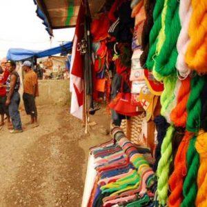 Cultural Market in Papua