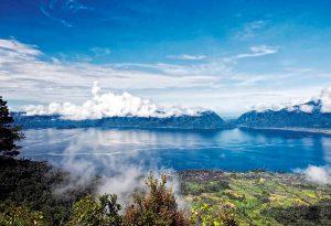 Lake Maninjau, West Sumatra, Indonesia