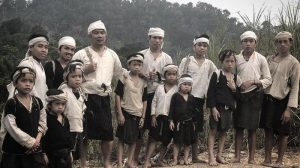 Baduy People Wearing Dark or White Clothes only