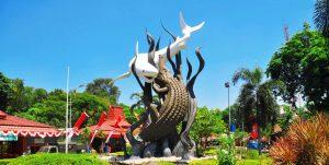 Sura and Baya Statue, Surabaya