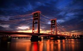 Ampeera Bridge, Palembang