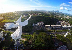 Christ Blessing Monument