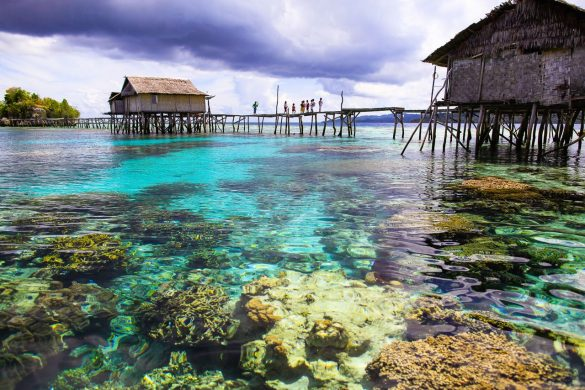 Togean Islands in Central Sulawesi