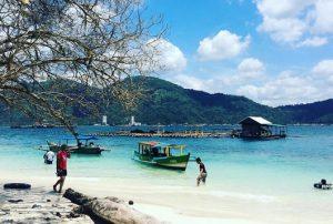 White Sand Beach, Lampung