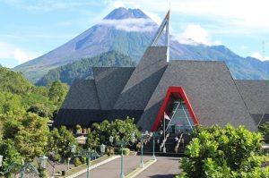 The Building of Museum Gunung Merapi