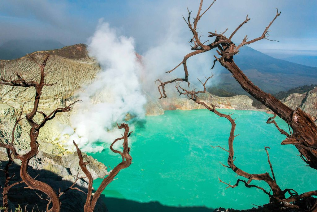 Ijen Crater on Mount Ijen