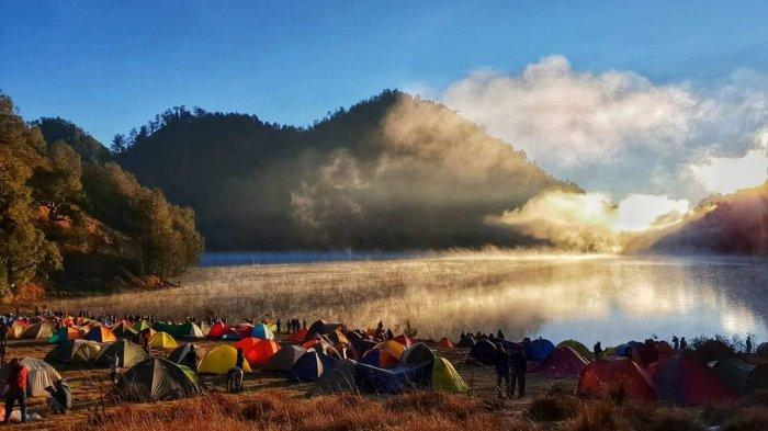 Ranu Kumbolo at Mount Semeru