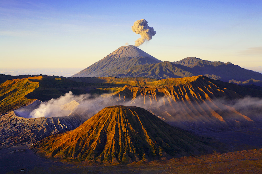 Mount Bromo as one of the most popular hiking sites in Indonesia