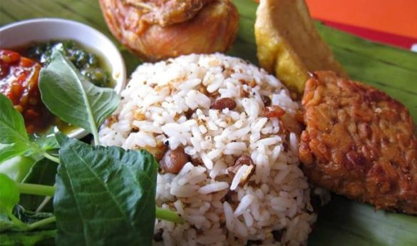 Tutug Oncom - one of West java's most popular cuisines