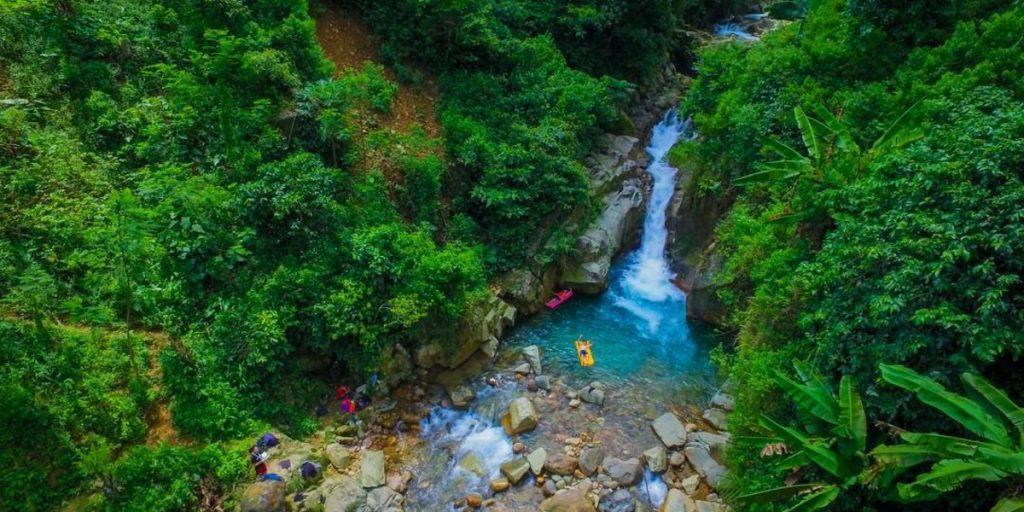 Cibaliung Waterfall