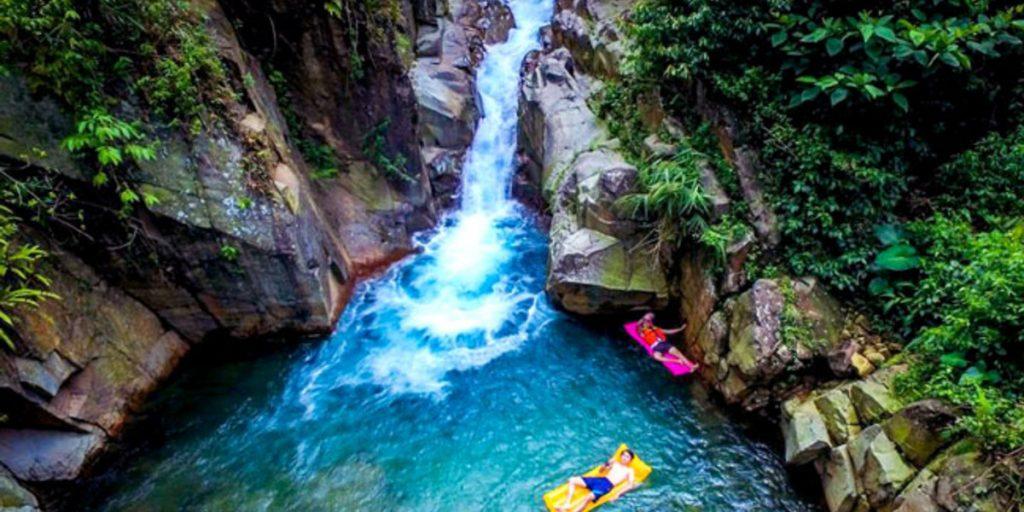 Waterfalls in Sentul