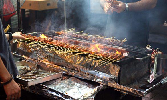 street food in south jakarta
