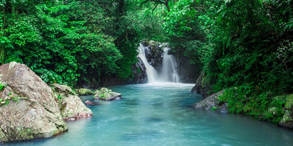 Kroya Waterfall