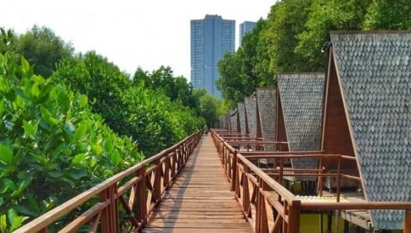nature attractions in jakarta