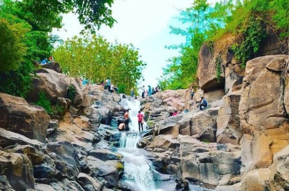 waterfall in bima