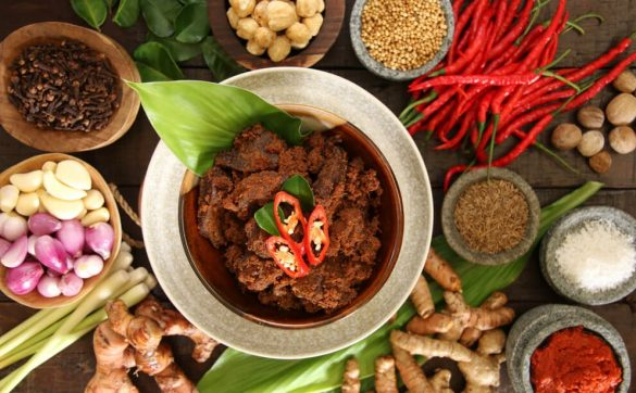 spiciest food in west sumatra
