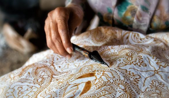 batik village in indonesia
