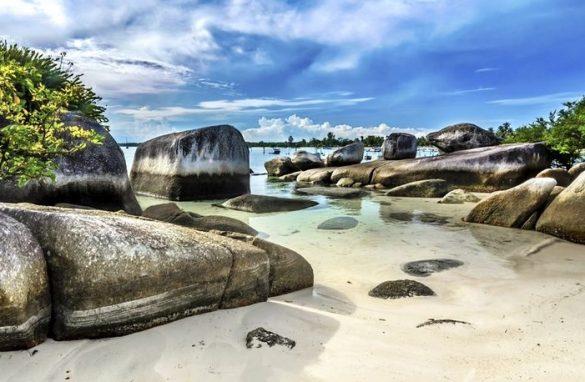 beaches in belitung island
