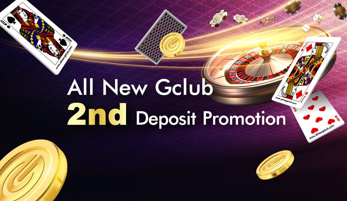 Second Deposit Bonus