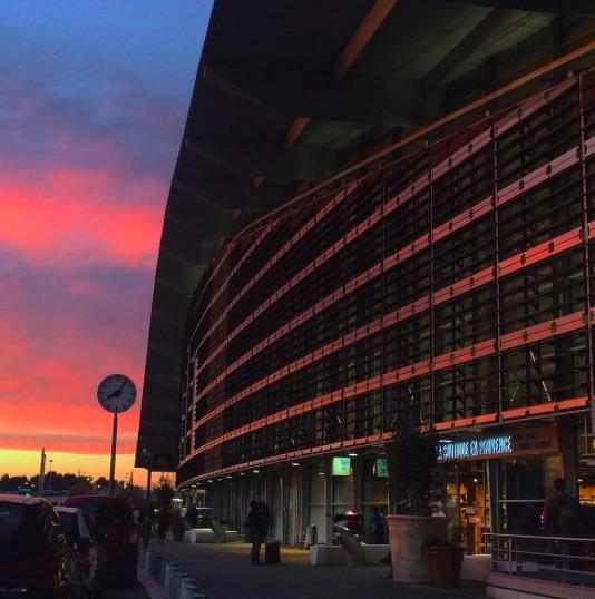 Gare Aix en Provence Nuit