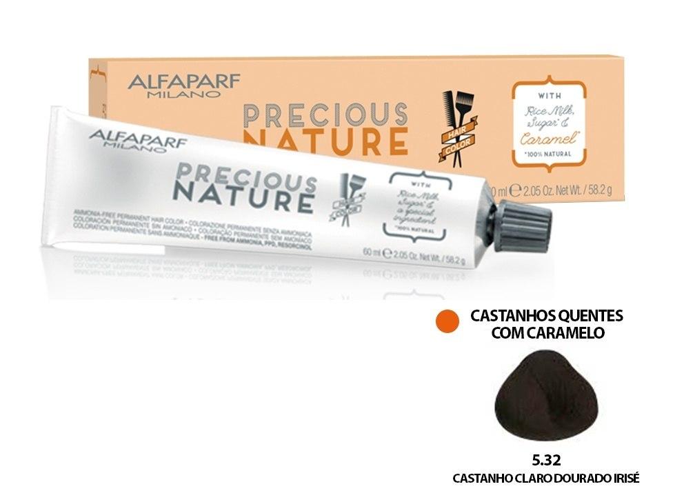 Alfaparf Coloração Precious Nature Hair Color 5.32 60 ml
